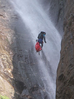 Canyoning in Asia with adrift adventures