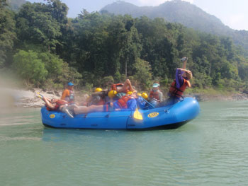 Family Rafting & Kayaking Holidays in Nepal