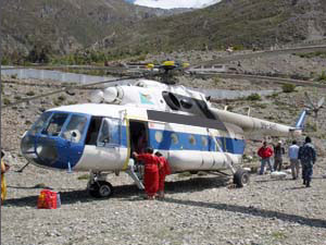 Helicopter Tour to Mt. Kailash