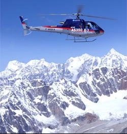 Helicopter Tour to Langtang Valley